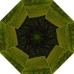 Three Crosses On A Hill Hook Handle Umbrellas (medium) by trendistuff