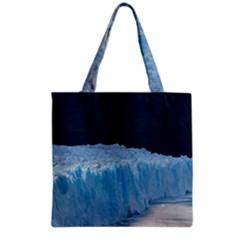 Perito Moreno Glacier Grocery Tote Bags by trendistuff