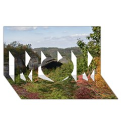 Natural Arch Mom 3d Greeting Card (8x4)  by trendistuff