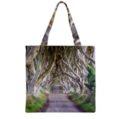 Dark Hedges, Ireland Grocery Tote Bags by trendistuff