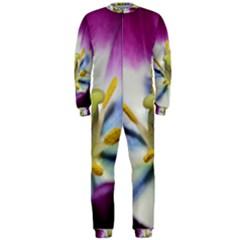 Purple Beauty Onepiece Jumpsuit (men)  by timelessartoncanvas