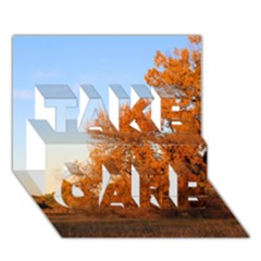 Beautiful Autumn Day Take Care 3d Greeting Card (7x5)  by trendistuff