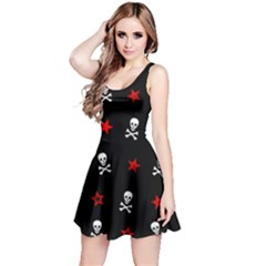 Stars, Skulls & Crossbones Reversible Sleeveless Dresses