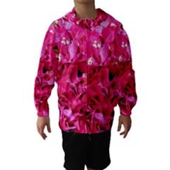 Bougainvillea Hooded Wind Breaker (kids)