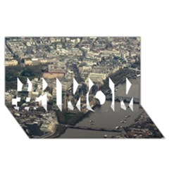London #1 Mom 3d Greeting Cards (8x4)  by trendistuff