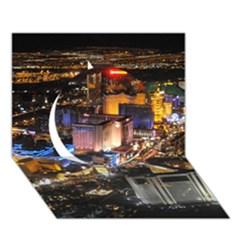 Las Vegas 1 Circle 3d Greeting Card (7x5)  by trendistuff