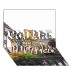 Colmar France You Are Invited 3d Greeting Card (7x5)  by trendistuff