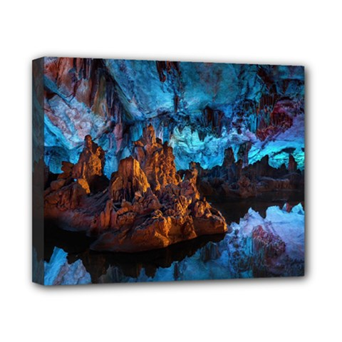 Reed Flute Caves 1 Canvas 10  X 8  by trendistuff