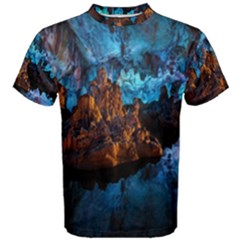Reed Flute Caves 1 Men s Cotton Tees by trendistuff