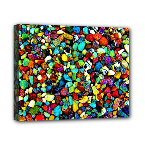 Colorful Stones, Nature Canvas 10  X 8  by Costasonlineshop