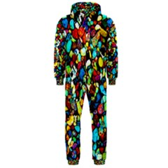 Colorful Stones, Nature Hooded Jumpsuit (men)
