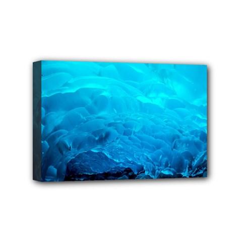 Mendenhall Ice Caves 3 Mini Canvas 6  X 4  by trendistuff