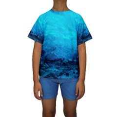 MENDENHALL ICE CAVES 3 Kid s Short Sleeve Swimwear by trendistuff