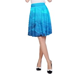 Mendenhall Ice Caves 3 A Line Skirt by trendistuff
