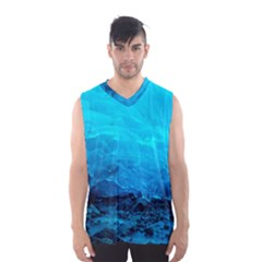 MENDENHALL ICE CAVES 3 Men s Basketball Tank Top by trendistuff