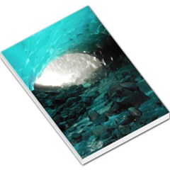Mendenhall Ice Caves 2 Large Memo Pads