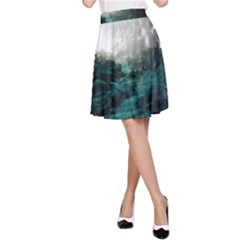 Mendenhall Ice Caves 2 A Line Skirt by trendistuff