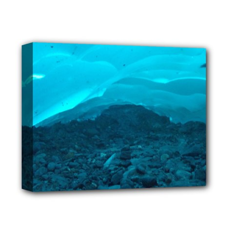 Mendenhall Ice Caves 1 Deluxe Canvas 14  X 11  by trendistuff