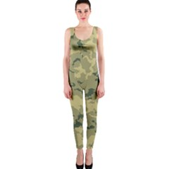 Greencamouflage Onepiece Catsuits