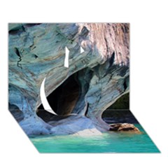 Marble Caves 2 Apple 3d Greeting Card (7x5)  by trendistuff