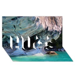 Marble Caves 2 Hugs 3d Greeting Card (8x4)  by trendistuff