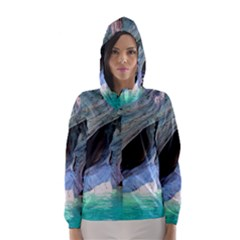 Marble Caves 2 Hooded Wind Breaker (women) by trendistuff