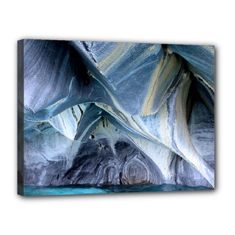 Marble Caves 1 Canvas 16  X 12  by trendistuff