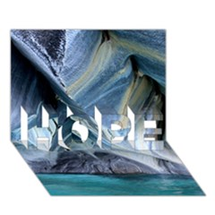 Marble Caves 1 Hope 3d Greeting Card (7x5)