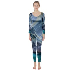 Marble Caves 1 Long Sleeve Catsuit by trendistuff