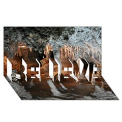 Jenolan Imperial Cave Believe 3d Greeting Card (8x4)  by trendistuff