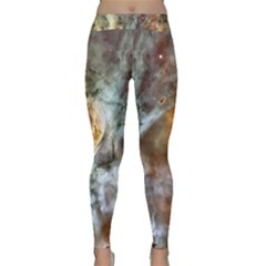pearl nebula Yoga Leggings  by boops