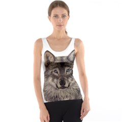 Wolf Tank Top by ArtByThree