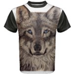 Wolfs Men s Cotton Tee Black Sleeve