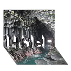 Fingals Cave Hope 3d Greeting Card (7x5)