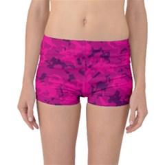 Pink Tarn Boyleg Bikini Bottoms