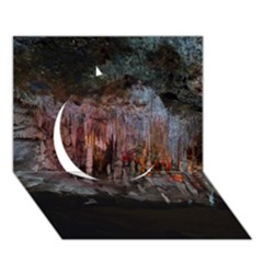 Caves Of Drach Circle 3d Greeting Card (7x5)