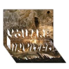 Carlsbad Caverns You Are Invited 3d Greeting Card (7x5)  by trendistuff