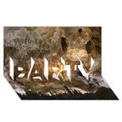 Carlsbad Caverns Party 3d Greeting Card (8x4)  by trendistuff