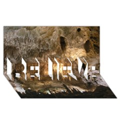 Carlsbad Caverns Believe 3d Greeting Card (8x4)