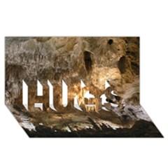 Carlsbad Caverns Hugs 3d Greeting Card (8x4)  by trendistuff