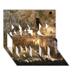 Carlsbad Caverns Get Well 3d Greeting Card (7x5)