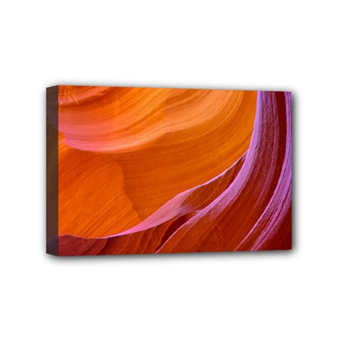 Antelope Canyon 2m Mini Canvas 6  X 4  by trendistuff