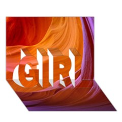 Antelope Canyon 2m Girl 3d Greeting Card (7x5)  by trendistuff