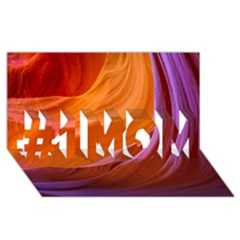 Antelope Canyon 2m #1 Mom 3d Greeting Cards (8x4)