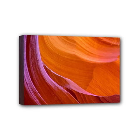 Antelope Canyon 2 Mini Canvas 6  X 4  by trendistuff