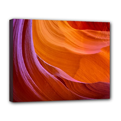 Antelope Canyon 2 Canvas 14  X 11  by trendistuff
