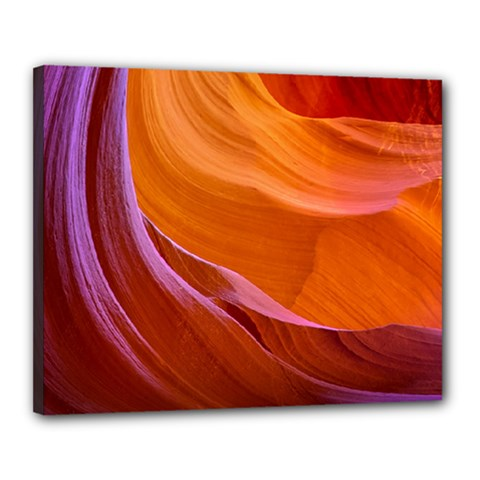 Antelope Canyon 2 Canvas 20  X 16  by trendistuff