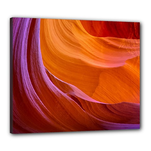 Antelope Canyon 2 Canvas 24  X 20  by trendistuff