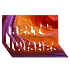 Antelope Canyon 2 Best Wish 3d Greeting Card (8x4)  by trendistuff