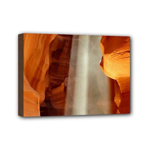 Antelope Canyon 1 Mini Canvas 7  X 5  by trendistuff